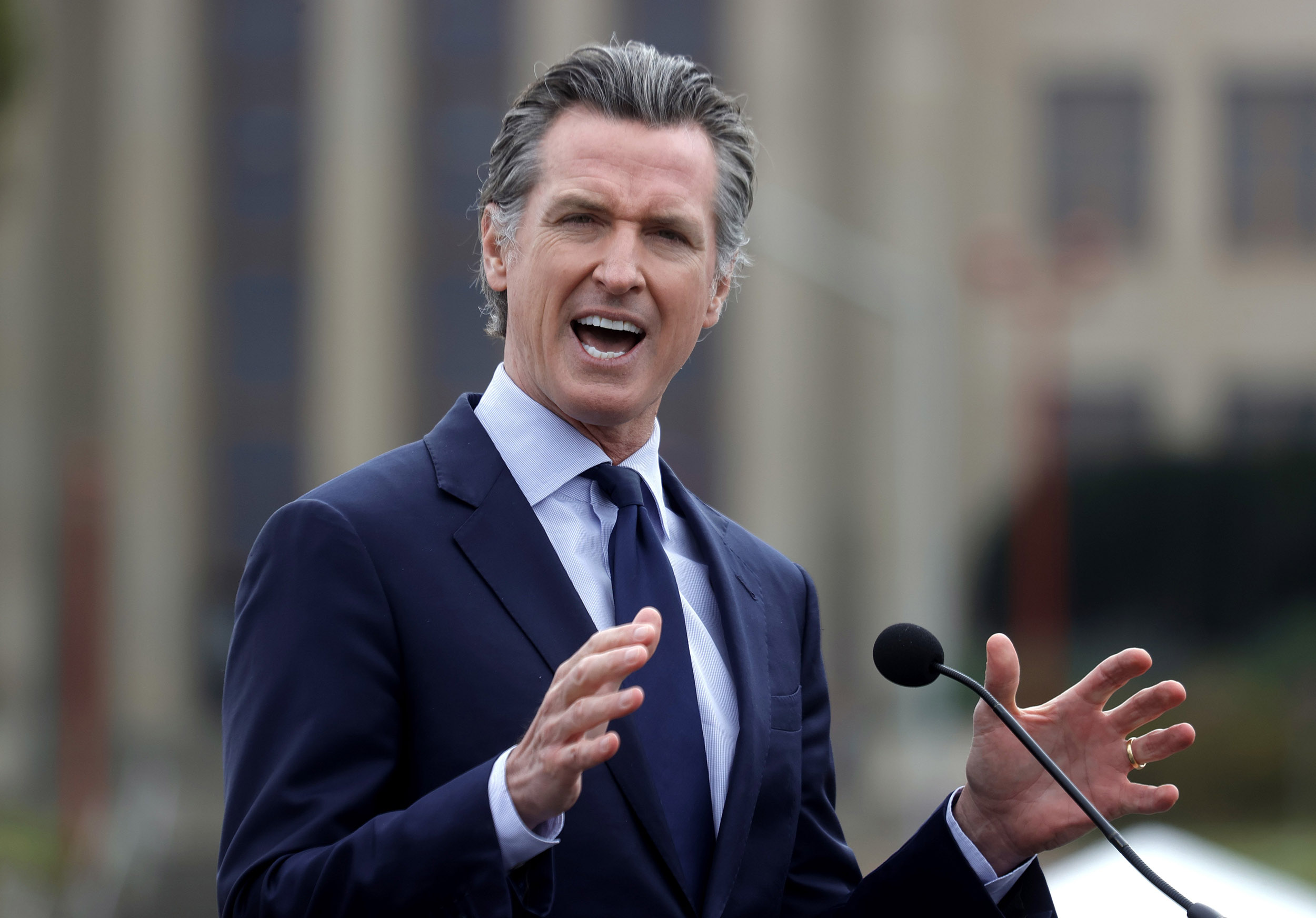 Gavin Newsom is Speaking Out on Recall Effort Against Him